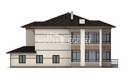 345-001-R Two Story House Plans, modern Design House