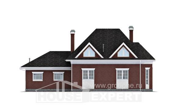 290-002-R Two Story House Plans with garage, classic House Planes, House Expert