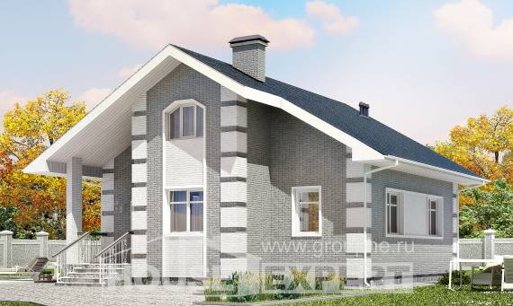 115-001-L Two Story House Plans with mansard roof, beautiful House Blueprints,