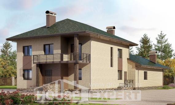 305-003-R Two Story House Plans, cozy Custom Home Plans Online, House Expert