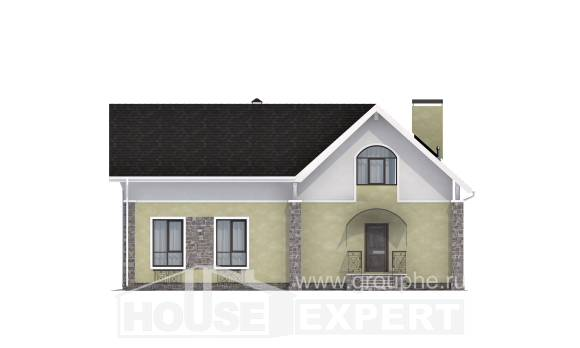 150-012-R Two Story House Plans and mansard, classic Ranch,