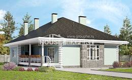 135-003-L One Story House Plans, inexpensive Building Plan, House Expert