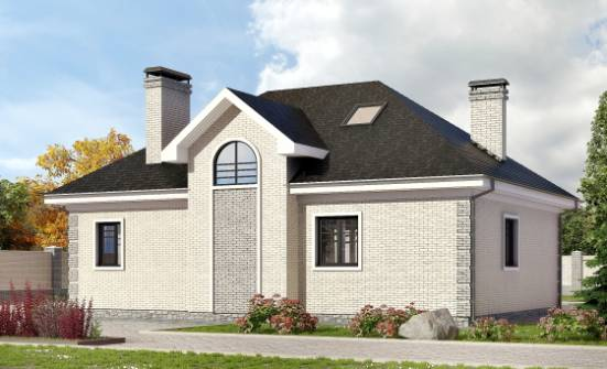 150-013-R Two Story House Plans with mansard roof, inexpensive Custom Home Plans Online, House Expert