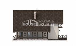 155-007-R Two Story House Plans with garage, best house Home House,