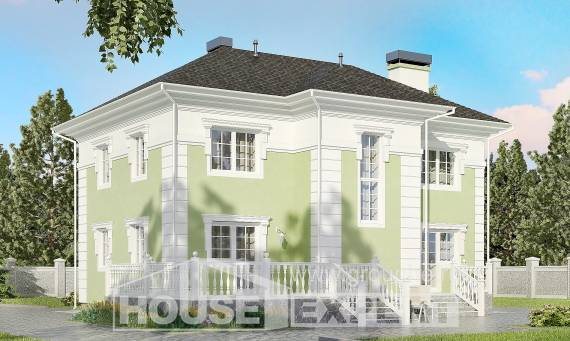 155-005-R Two Story House Plans, beautiful Design House,