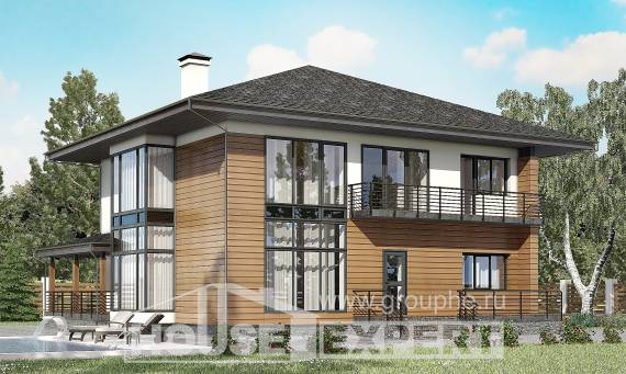 245-001-R Two Story House Plans, beautiful Architect Plans,