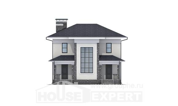 155-011-R Two Story House Plans, inexpensive House Planes, House Expert