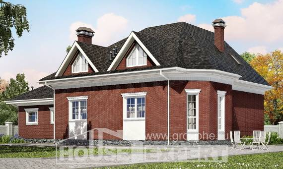 290-002-R Two Story House Plans with garage in front, a huge House Online, House Expert