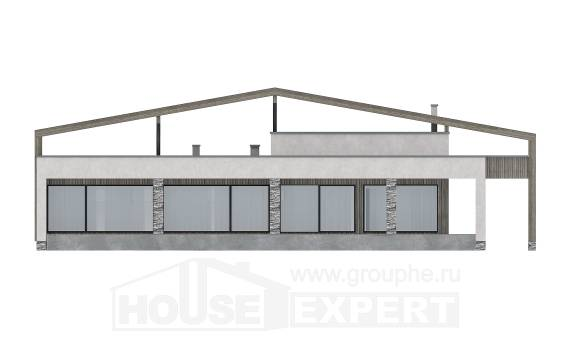 170-011-L One Story House Plans, modern House Planes, House Expert