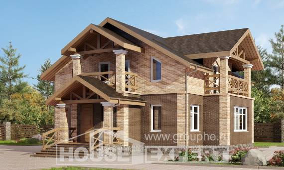 160-014-R Two Story House Plans, economical Ranch,
