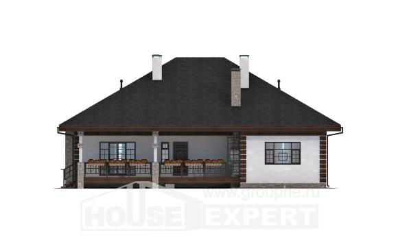 135-003-R One Story House Plans, the budget Planning And Design, House Expert