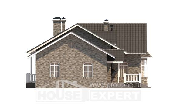 195-001-R One Story House Plans, cozy Plan Online,