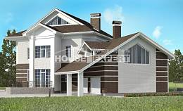 410-001-R Two Story House Plans and garage, classic Architectural Plans,