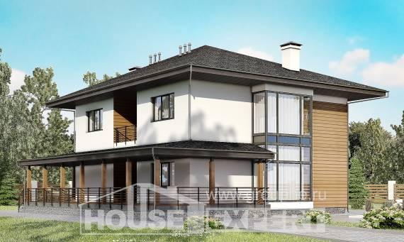 245-001-R Two Story House Plans, a simple Ranch,