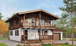 200-011-R Two Story House Plans with mansard roof, best house Building Plan, House Expert