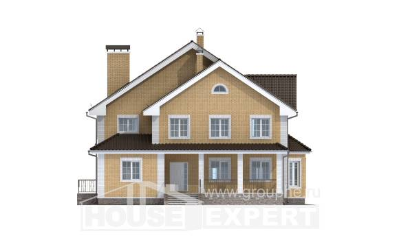 320-003-L Two Story House Plans, best house Woodhouses Plans,