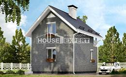 045-001-R Two Story House Plans and mansard, best house Design House,