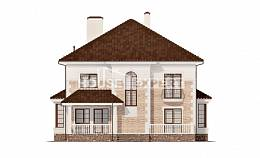 220-008-R Two Story House Plans, beautiful Architect Plans, House Expert