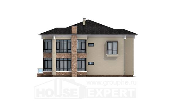 300-005-L Two Story House Plans, luxury House Planes,