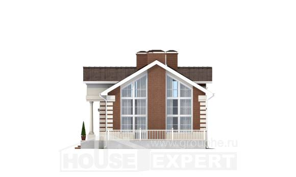 160-009-R Two Story House Plans, cozy House Blueprints,