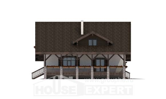 220-005-R Two Story House Plans with garage in front, best house Architects House,