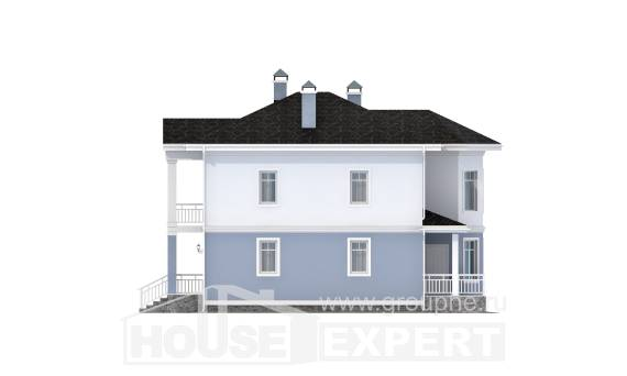 120-001-R Two Story House Plans, the budget Architectural Plans