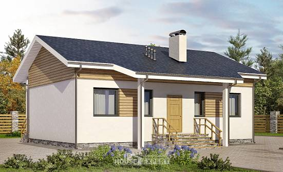 080-004-R One Story House Plans, the budget Tiny House Plans,