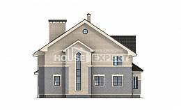 300-004-R Two Story House Plans, cozy Drawing House,