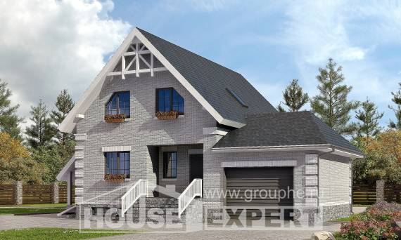 200-009-R Three Story House Plans and mansard with garage in front, luxury Architects House,