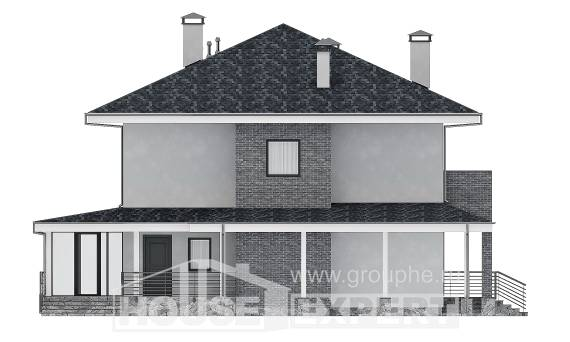 250-004-L Two Story House Plans, best house Blueprints, House Expert