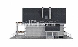 200-009-R Three Story House Plans and mansard with garage under, cozy House Online,