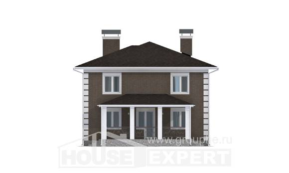 185-002-R Two Story House Plans, best house Home Plans,