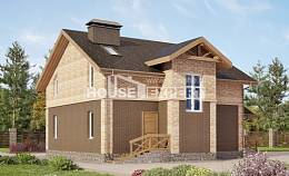 160-014-R Two Story House Plans, the budget Cottages Plans,