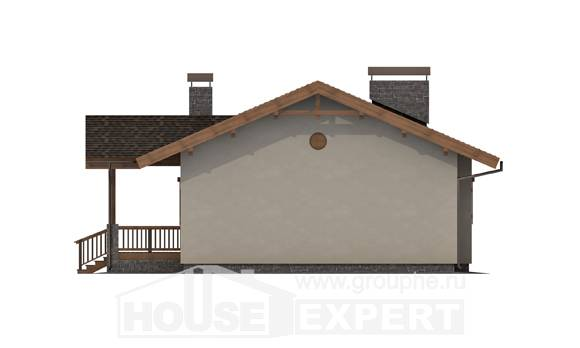 090-002-L One Story House Plans, inexpensive Planning And Design, House Expert