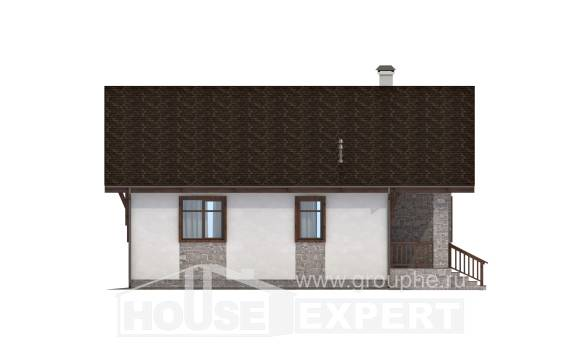 080-002-L One Story House Plans, cozy Floor Plan
