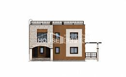 150-010-L Two Story House Plans, the budget Blueprints,