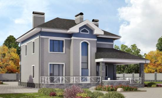 200-006-L Two Story House Plans, classic Blueprints, House Expert