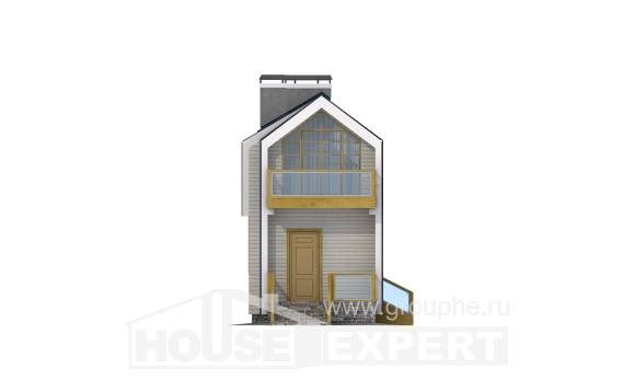 060-006-R Two Story House Plans with mansard roof, available Custom Home,