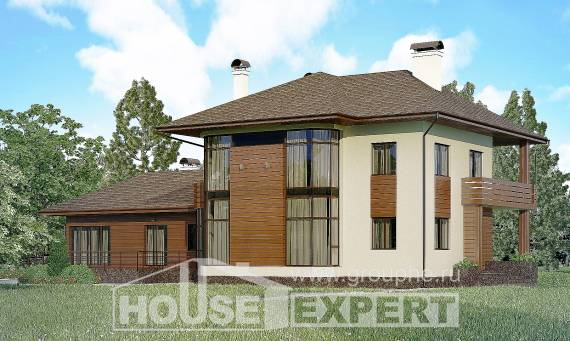 300-001-R Two Story House Plans, luxury Plans To Build,