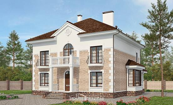 220-008-R Two Story House Plans, spacious Home Blueprints, House Expert