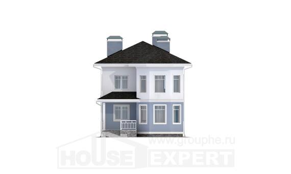 120-001-R Two Story House Plans, available House Plans