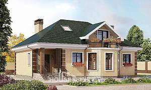 150-013-L Two Story House Plans and mansard, best house House Online