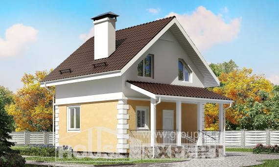 070-002-R Two Story House Plans with mansard, tiddly Custom Home,