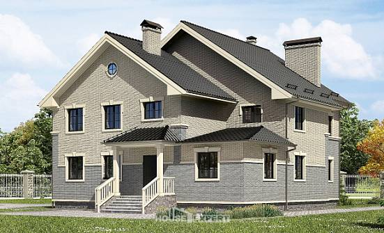 300-004-R Two Story House Plans, cozy Models Plans,