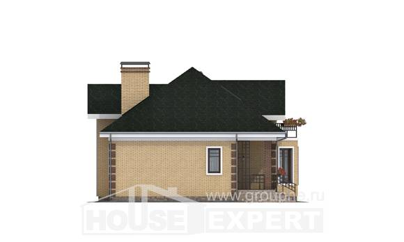 150-013-L Two Story House Plans and mansard, a simple Planning And Design,