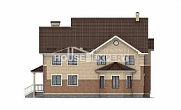 300-004-L Two Story House Plans, spacious Home House,