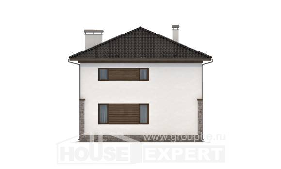 170-005-R Two Story House Plans, available Blueprints,