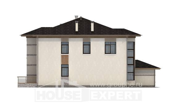 345-001-R Two Story House Plans, a huge Blueprints