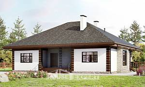 135-003-R One Story House Plans, inexpensive Online Floor