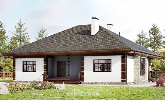 135-003-R One Story House Plans, classic Building Plan,